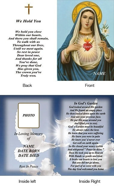 Memorial Card Style 5