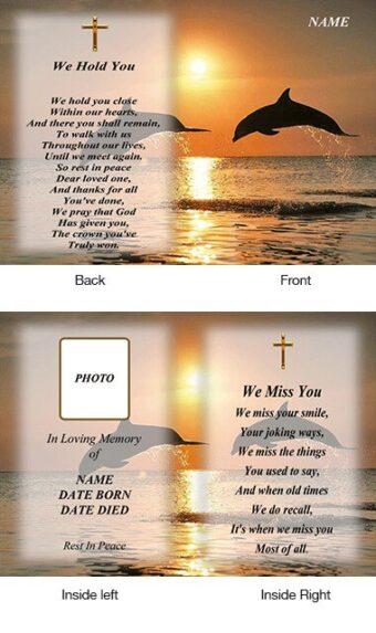Memorial Card Style 15