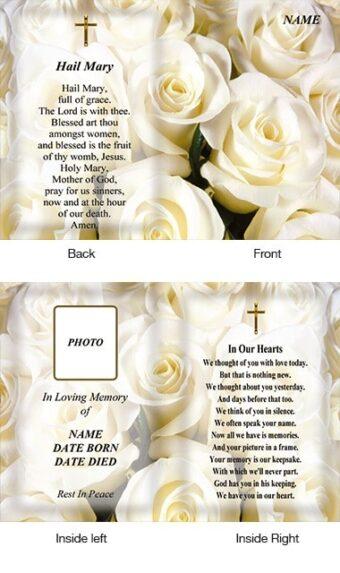 Memorial Card Style 29