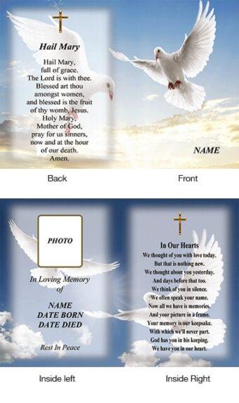 Memorial Card Style 30