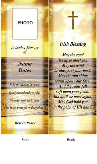 Memorial Bookmark 06
