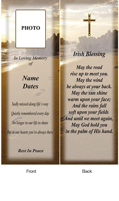 Memorial Bookmark 09