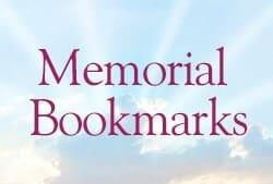 Memorial Bookmarks