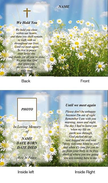 Memorial Card Style 33