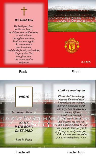 Memorial Card Style 36